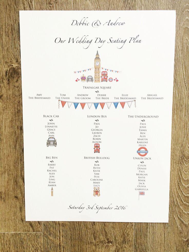 26 best London Themed Wedding Stationery images on Pinterest ...