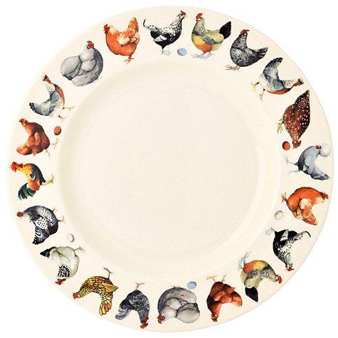 "Buy Emma Bridgewater Hen & Toast 10.5"" Plate Online at johnlewis.com"
