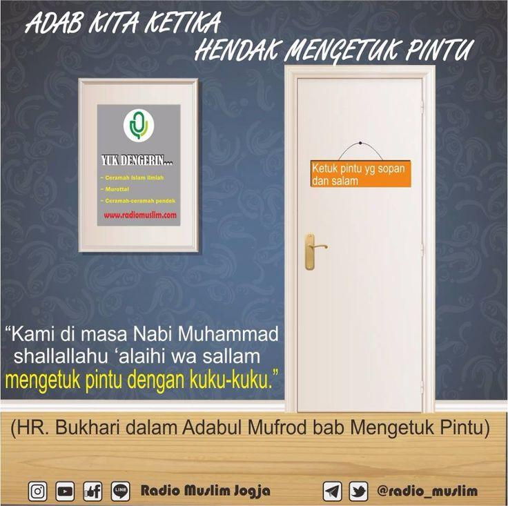 http://nasihatsahabat.com #nasihatsahabat #mutiarasunnah #motivasiIslami #petuahulama #hadist #hadits #nasihatulama #fatwaulama #akhlak #akhlaq #sunnah  #aqidah #akidah #salafiyah #Muslimah #adabIslami #DakwahSalaf # #ManhajSalaf #Alhaq #Kajiansalaf  #dakwahsunnah #Islam #ahlussunnah  #sunnah #tauhid #dakwahtauhid #alquran #kajiansunnah #adabakhlak, #ketukpintu, #ketokpintu, #tatacara, #cara, #mengetukpintu, #adabketukpintu, #pakaikukukuku