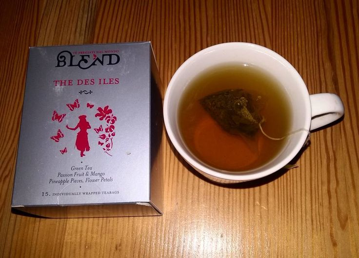TeaTime 🍵#delicious #teatime #giftfrommycolleague #thanks #happiness #drinkingtea #greentea #blendtea #loveit #homesweethome
