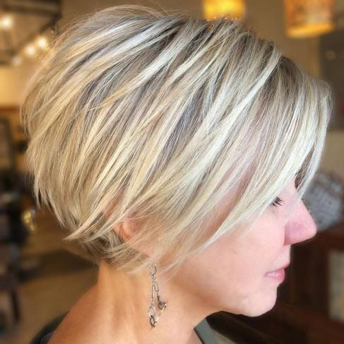 Long Pixie with Angled Layers #shortbobhairstylesideas