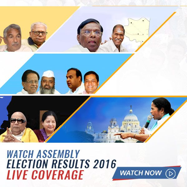 Get all the latest news, coverage, videos & complete analysis of the #AssemblyElectionResults2016 with #YuppTV. You do not want to miss this Click here to watch http://www.yupptv.com/2016-election-results-live.html