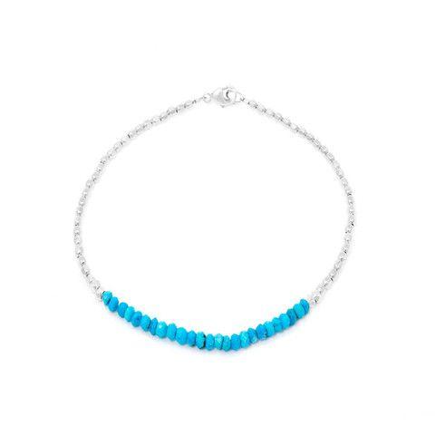 CATHERINE WEITZMAN Turquoise and Silver Bracelet – KAVUT