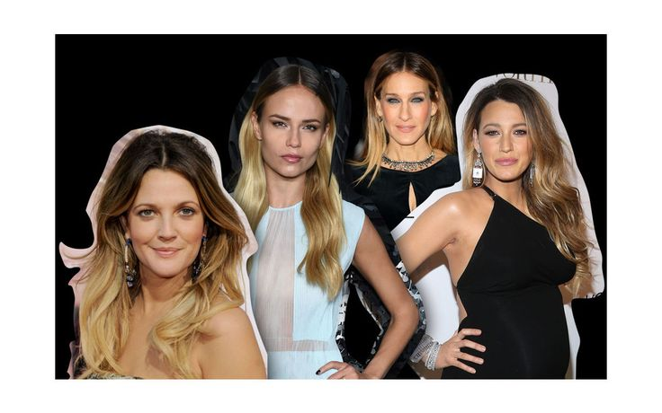 Haartrend - Careless Chic: Immer mehr Stars setzen im Glitzerlicht ihre dunklen Haaransätze in Szene. Was früher als ungepflegt empfunden wurde, gilt heute als chic.