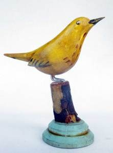Carved bird: 50 Little Birds on the Northern Forest Canoe Trail - I Need Your Help – Not Your Donations. I carve birds. In June I will begin a six week canoe expedition across New England to bcome immersed in the birds that inspire and inform my work. https://www.indiegogo.com/projects/50-little-birds-on-the-northern-forest-canoe-trail