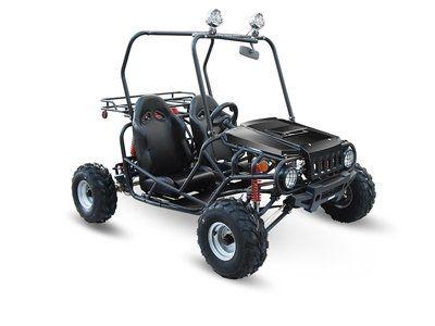BUY TaoTao ATK-125A 125cc BLACK Gas 4 Stroke Semi-Auto Buggy Go Kart
