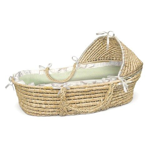 Moisés Basket Sage guinga 373773322   Moisés   Muebles   Decoración del cuarto del bebé   Bebé   Burlington Coat Factory