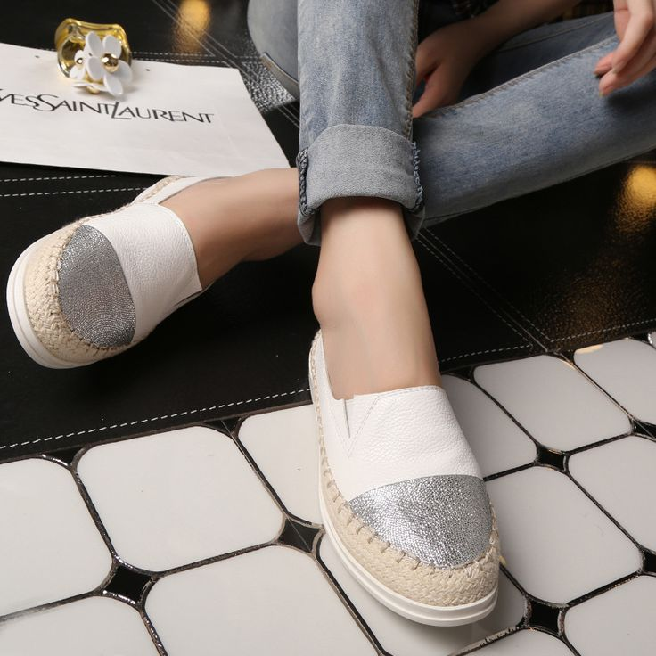 Leather Shoes Skateboarding Sneaker Female Pregnant Women Flat Skate Shoe Brand Natural Leather Sports Shoes For Women