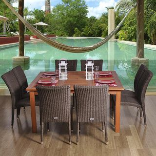 Amazonia Tuscany 9-piece Dining Set | Overstock.com Shopping - The Best Deals on Dining Sets