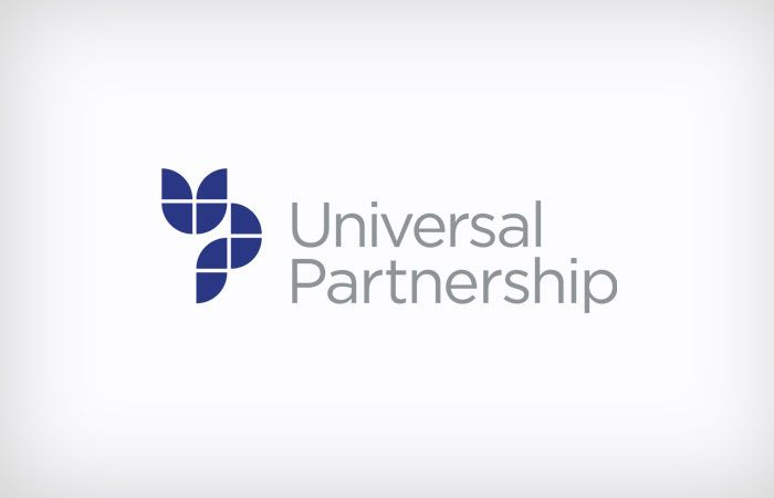 uberbrand created Universal Partnership to help position and communicate this Sydney business services and accountancy.