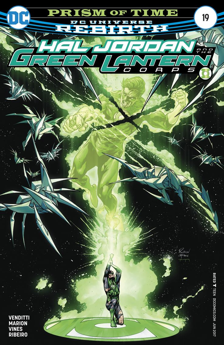 Hal Jordan and the Green Lantern Corps (2016) Issue #19