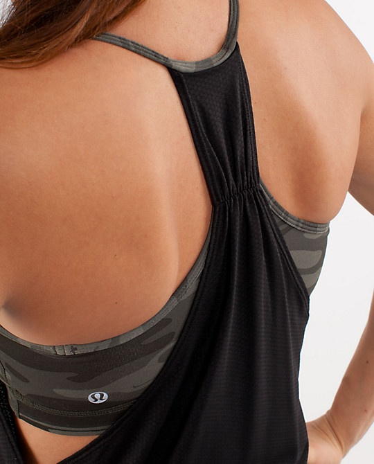 love me some lululemon! No Limit Tank - comes in lots of fun color combos