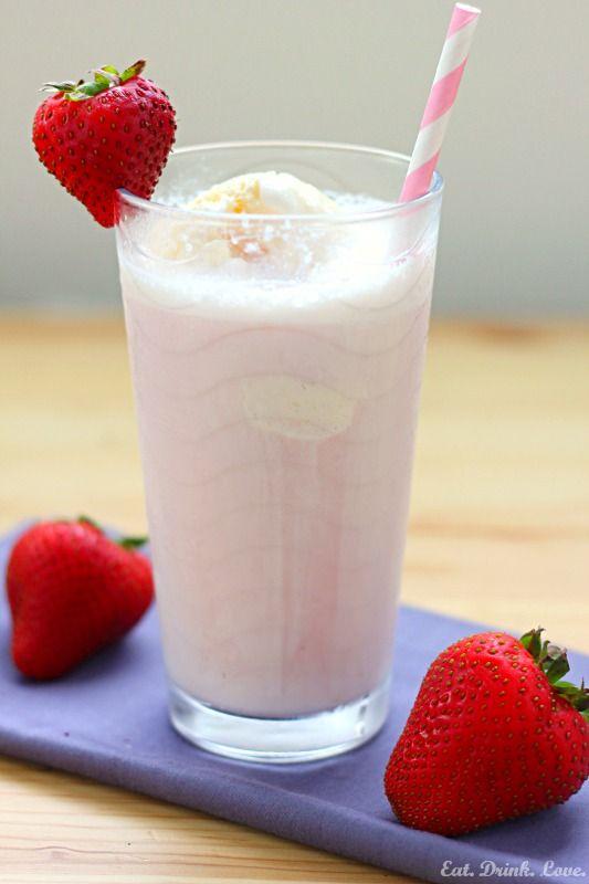 how to make a good strawberry shake