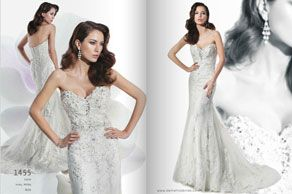 Robe de mariée - Demetrios collection 2014
