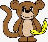 Monkey Paper Craft