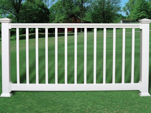 @Fairway Building Products Porch and Deck Railing  Contour Vinyl Railing