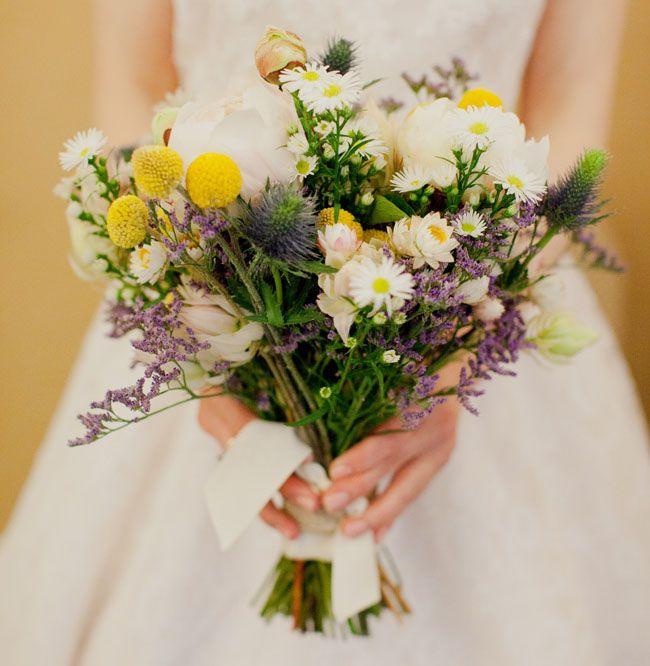 Lovely wildflower bouquet.