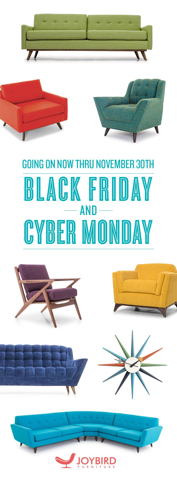 BLACK FRIDAY Sale Going On Now At Joybird.com! 20% Off Sitewide + Part 48