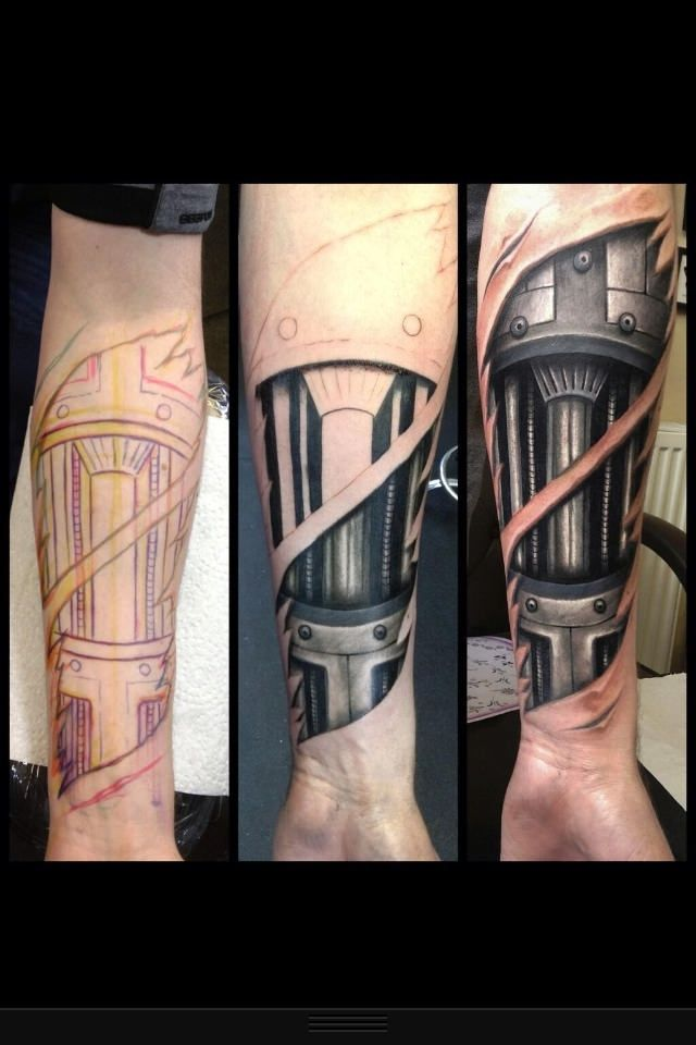 93 best images about 78caha 39 s board on pinterest 3d for Biomechanical hand tattoo designs