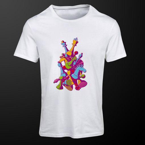 Chess Colors #ChessColors #white #chess #tshirt #clothing #premiumchesswebshop #chesswebshop