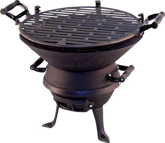 Potkachel Houtskoolbarbecue - Gietijzer