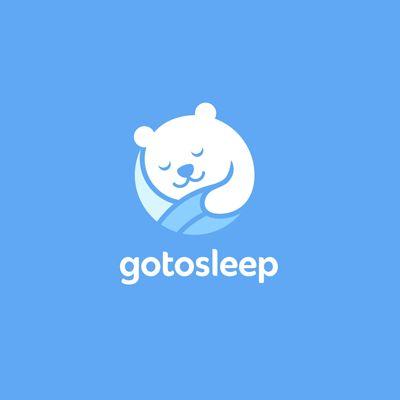 Gotosleep logo design by ru_ferret / Nikita Lebedev