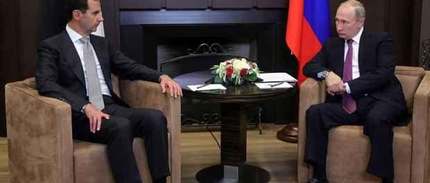 Incontro Putin Assad in Russia. I due presidenti alla ricerca della exit strategy dalla Siria e alla soluzione politica Il presidente russo Vladimir Putin e quello siriano Bachar al-Assad si sono incontrati a Soci, in Russia. Al centro del meeting c'è la ricerca di una soluzione politica al conflitto siriano. Per il p #russia #siria #putin #assad