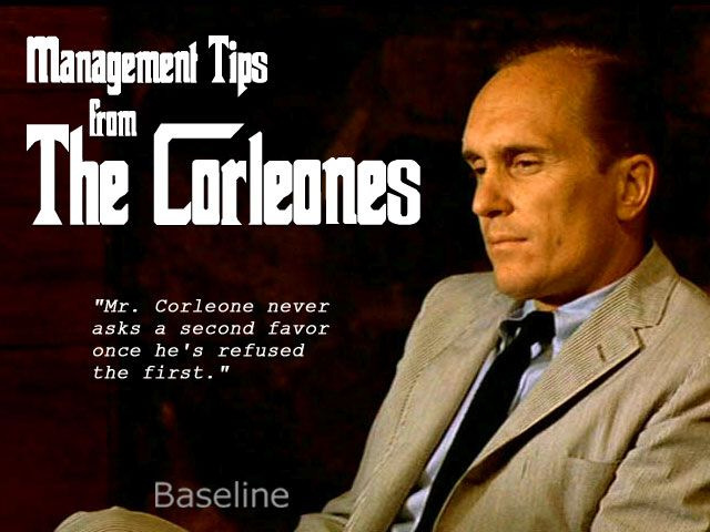 Business advice from the Godfather