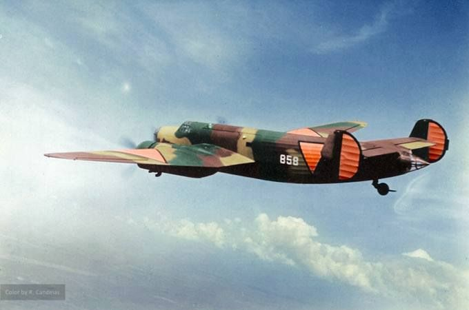 Dutch Fokker T. V
