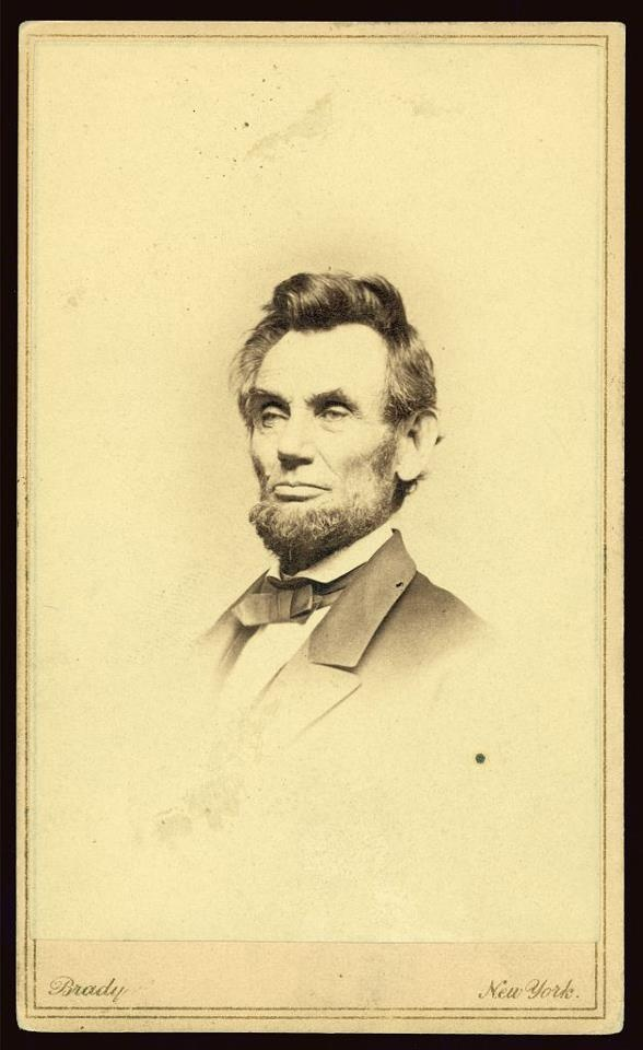 53 best abraham lincoln quotes and pictures images on pinterest cdv vignette of president lincoln fandeluxe Gallery