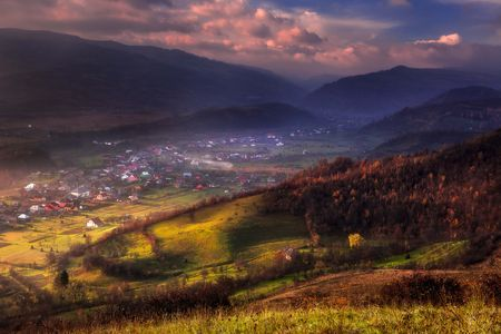 Sunrise Over the Hills of Romania Photo by Nora de Angelli - www.noraphotos.com -- National Geographic Your Shot