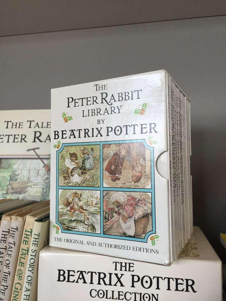 The Peter Library Beatrix Potter book set, 1-12 by Vint8ge on Etsy