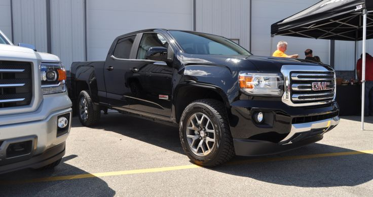 Updated With Real Life Photos 302hp 2015 Gmc Canyon All Terrain Gmc Canyon All Terrain Gmc Canyon Gmc
