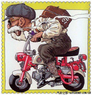 龟仙人也玩机车?漫画宗师鸟山明(七龙珠、阿拉蕾)和机车的缘分_摩托车论坛_手机汽车之家