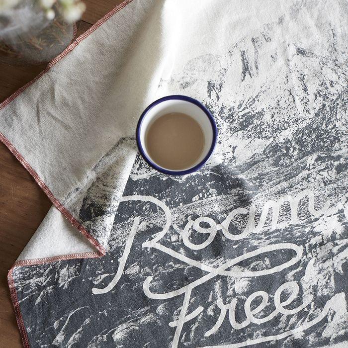 Pony Rider — Roam Free Tea towel   Kate Renzt   wall hanging