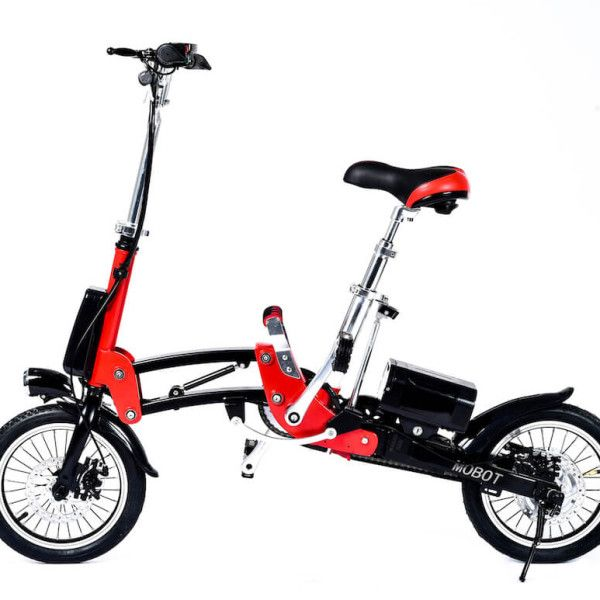 1 Sec Folding eBike – 16″ Tire -Unfolded Position
