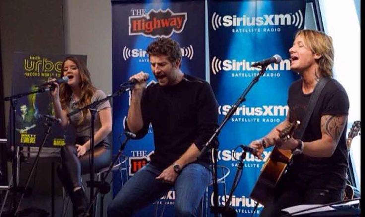 """Keith Urban, Brett Eldredge and Maren Morris Covered Adele's """"Rolling In The Deep"""" (to Announce Their Tour)"""