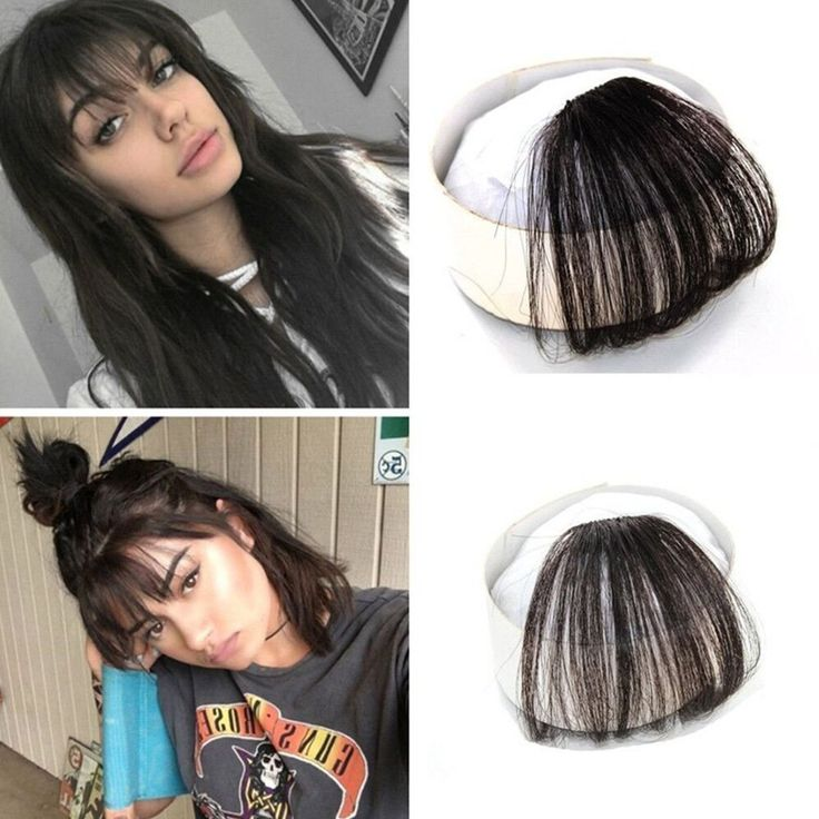 SHARE & Get it FREE | 100 Percent Real Human Front Fringe Clip in Bangs Medium Brown Hair Extensions HairpieceFor Fashion Lovers only:80,000+ Items • New Arrivals Daily • Affordable Casual to Chic for Every Occasion Join Sammydress: Get YOUR $50 NOW!