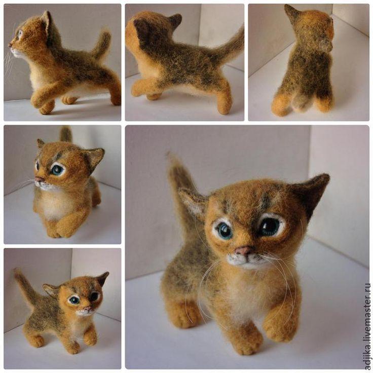 Купить Абиссинский котенок, девочка Лизхен - разноцветный, кот, кошка, котик, котенок, кошечка, абиссин