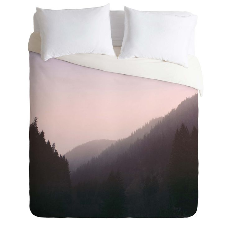 Leah Flores Wilderness x Pink Duvet Cover | DENY Designs Home Accessories