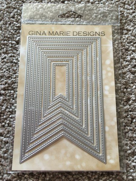 FISH TAIL BANNERS - GINA MARIE DESIGN DIES | Scrapbook ...