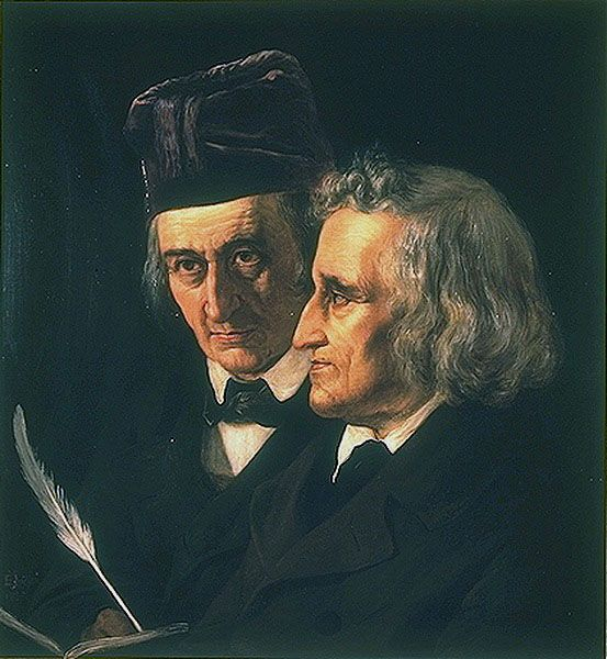 The Brothers Grimm, authors of many fairy tales in which magic plays a prominent role. http://simon-rose.com/books/the-childrens-writers-guide/
