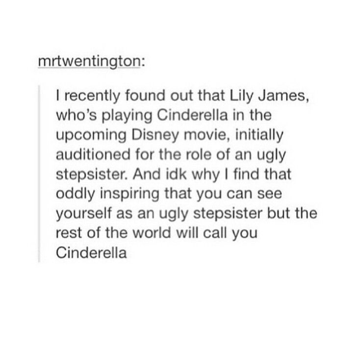 Anyone else notice that her name is LILY JAMES? Or is that just the potterhead in me? >>>I NOTICED THAT TOO!!!!!