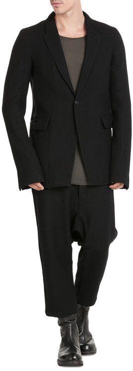 Rick Owens Virgin Wool Blazer