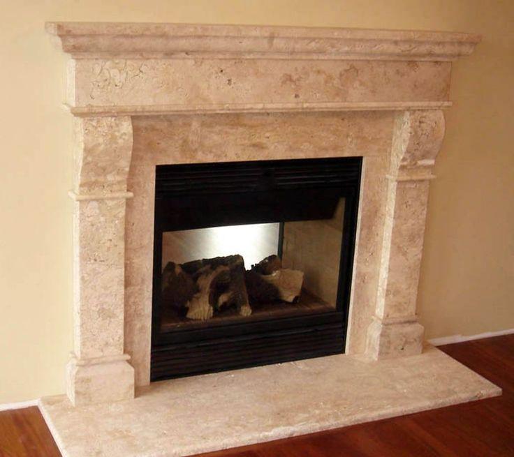 Best 37 fireplace ideas on pinterest contemporary for Modern stone fireplace ideas