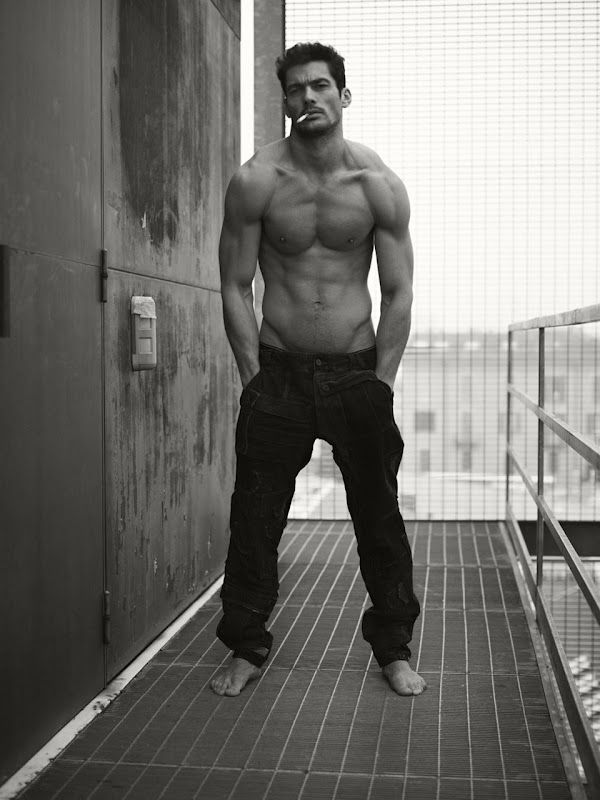 David Gandy - I've pinned this before... but damn!!... Look at those shoulders, arms and chest!!!!!! Good gawd!