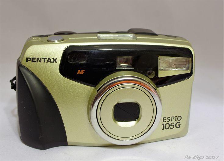 Pentax Espio 105G - 35mm compact camera (1991)