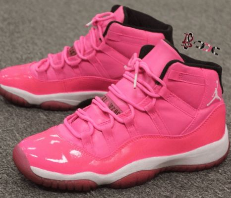 Idk About You But I Looooove Pink! All Pink Jordan 11's #Jays #Pink