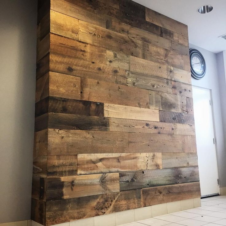 25 best feature walls images on pinterest barn boards for Local reclaimed wood