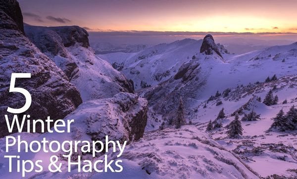 Landscape Tutorial: 5 Tips & Tricks for Shooting Stunning Winter Photographs (VIDEO)  ||  Winter provides a variety of opportunities for making stunning nature photos. But whether you're shooting near home or in the wilderness, this final season of the year also presents unique challenges that must be overcome if you want to achieve great results…